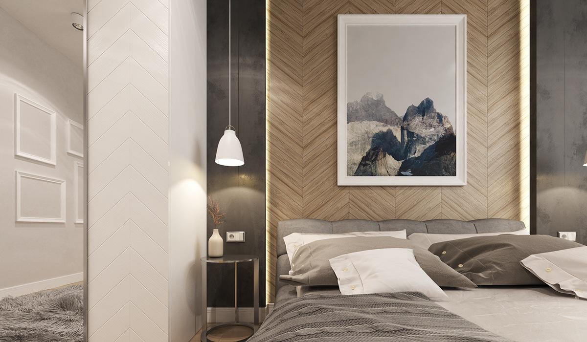 wedo thiết kế nội thất hiện đai, sang trọng mà đơn giản cho phòng ngủ