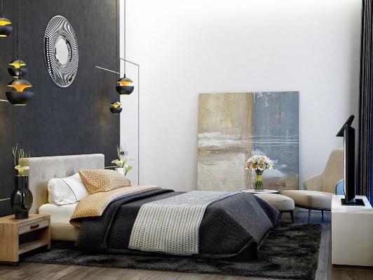wedo thiết kế nội thất phòng ngủ hiện đại, sang trọng và đơn giản cho nhà đẹp