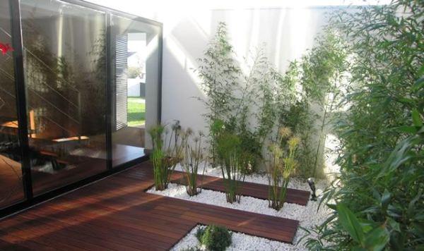 wedo tư vấn ý tưởng thiết kế sân vườn đẹp với đá cuội