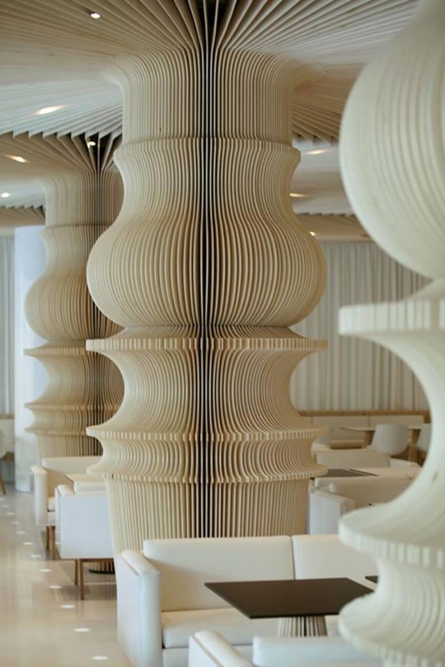 ý tưởng thiết kế cột nhà độc đáo, sang trọng cho mọi công trình