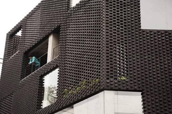ý tưởng thiết kế nhà đẹp với tường gạch trần độc đáo
