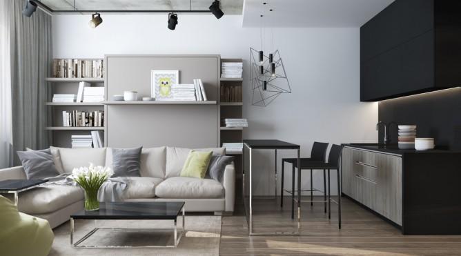mẫu nội thất đẹp và tiện nghi cho nhà diện tích nhỏ