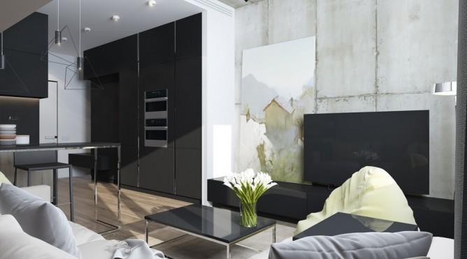 thiết kế nội thất đẹp, tiện nghi, sang trọng cho nhà nhỏ