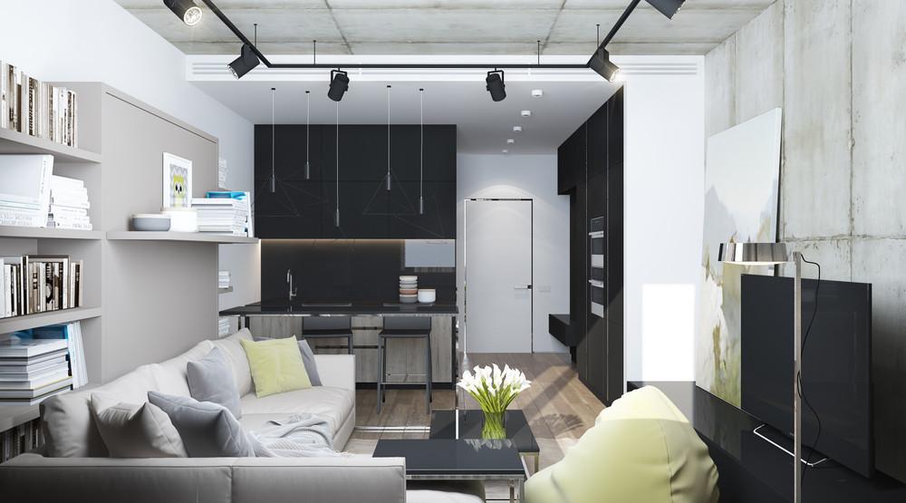 thiết kế nội thất đẹp và tiện nghi cho nhà nhỏ