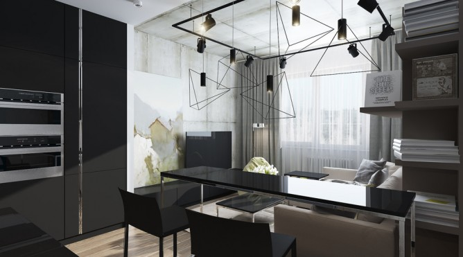 thiết kế nội thất đẹp và tiện nghi cho nhà nhỏ dưới 30 mét