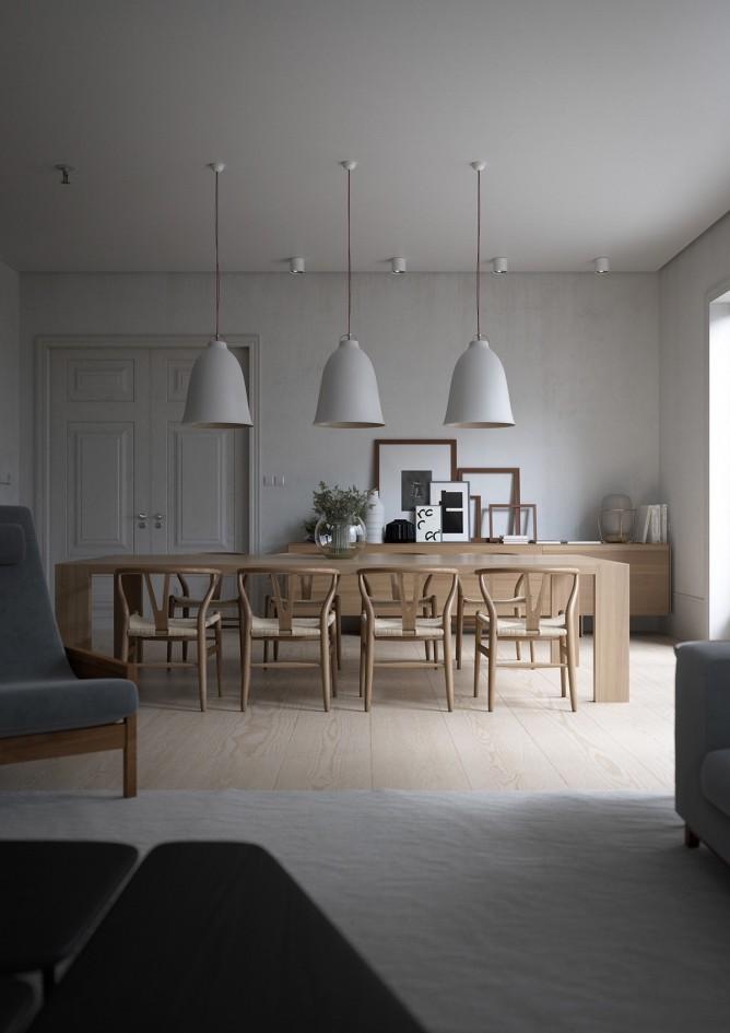 thiết kế nội thất phòng ăn hiện đại, sang trọng cho mọi ngôi nhà