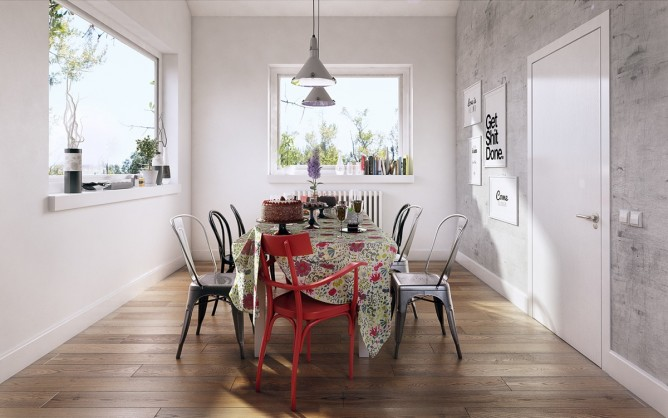 tư vấn thiết kế nội thất phòng ăn, nhà bếp đẹp, sang trọng