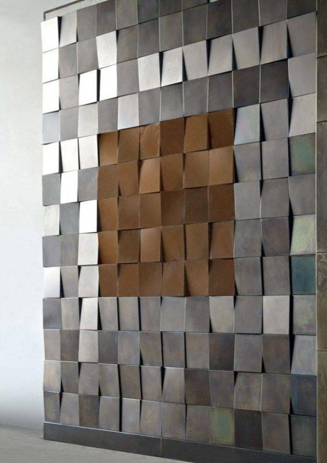 thiết kế nội thất nhà đẹp hoàn hảo với tường 3D
