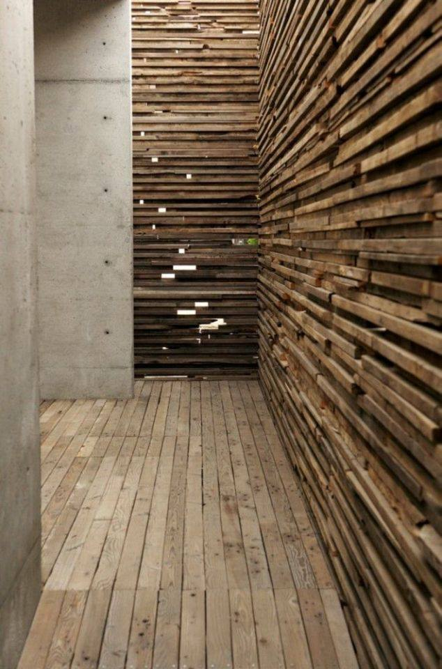 thiết kế nội thất nhà đẹp độc đáo với tường 3d