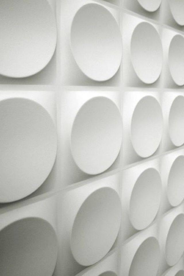 thiết kế nội thất nhà đẹp với tường 3d