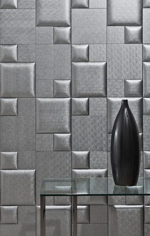 nội thất nhà đẹp độc đáo với tường 3D