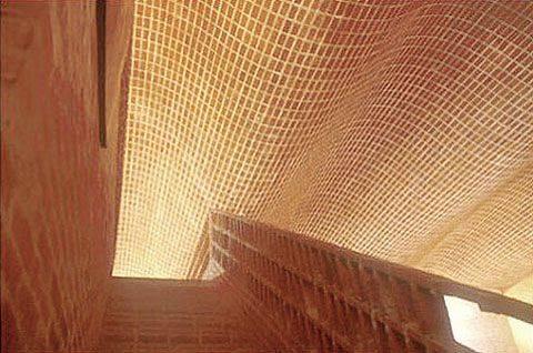 ý tưởng thiết kế nhà đẹp độc đáo với gạch trần mộc mạc
