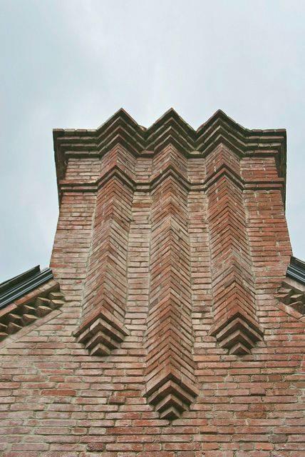 ý tưởng thiết kế nhà đẹp độc đáo và lạ với gạch trần