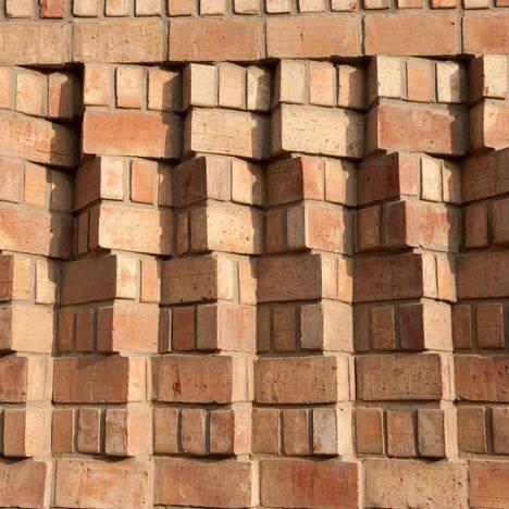 ý tưởng thiết kế nhà đẹp độc đáo với tường gạch trần