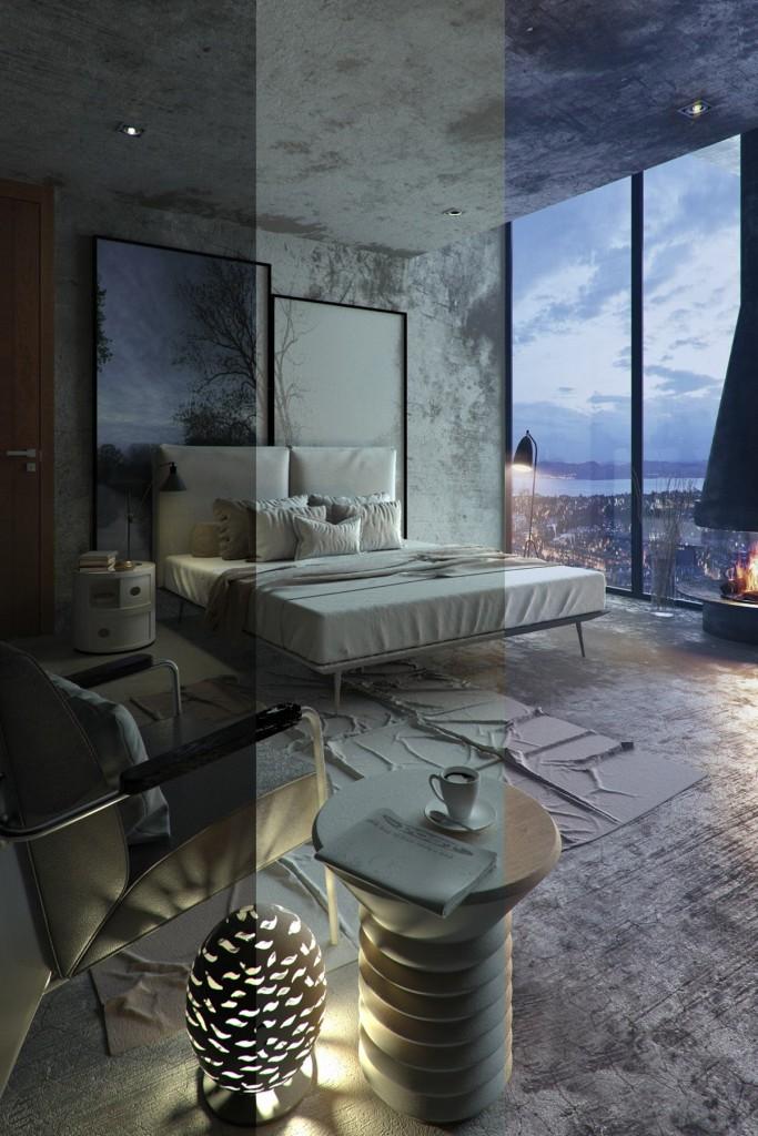mẫu nội thất phòng ngủ được thiết kế theo cá tính độc đáo
