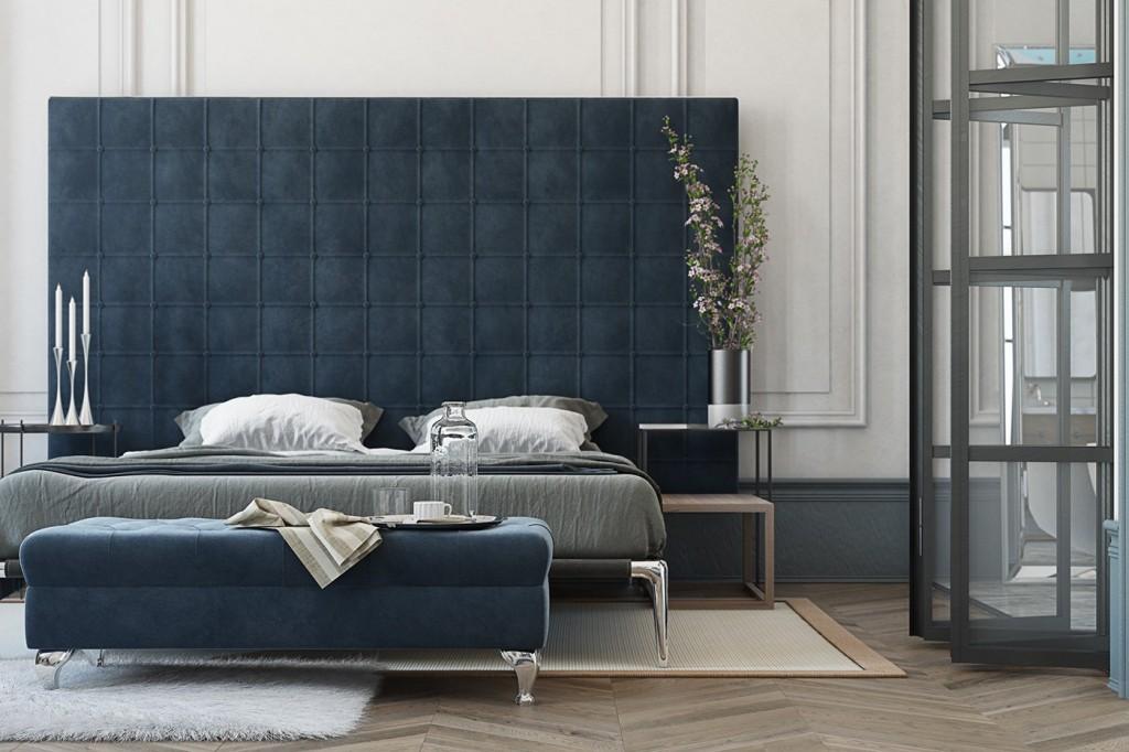 mẫu nội thất phòng ngủ ấn tượng theo cá tính