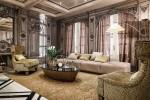 mẫu thiết kế nội thất tân cổ điển sang trọng cho phòng khách