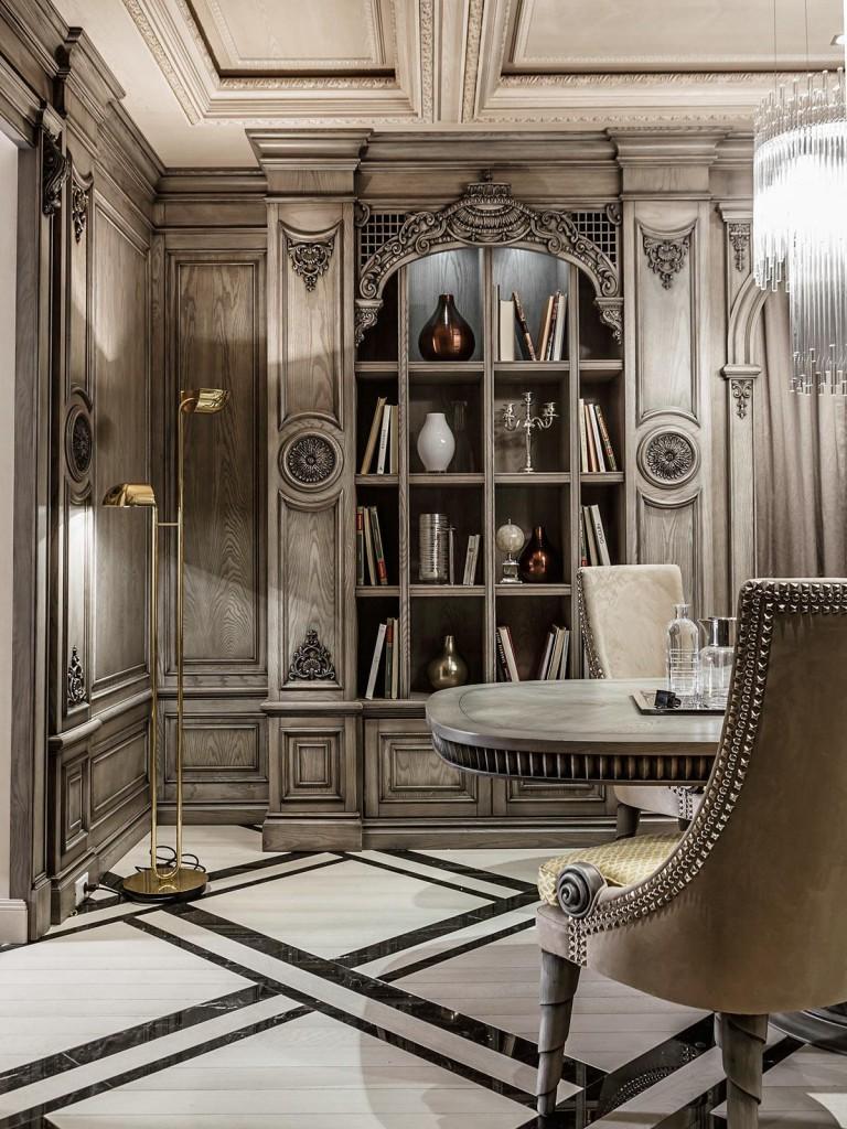 mẫu thiết kế nội thất tân cổ điển sang trọng cho phòng ăn
