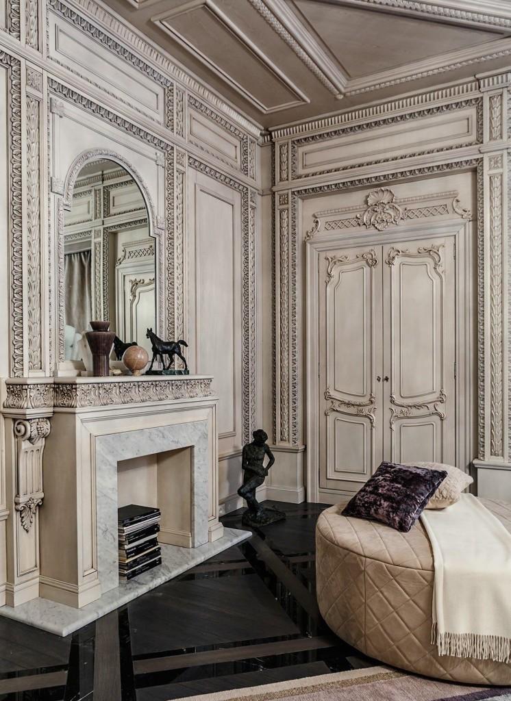 mẫu thiết kế nội thất tân cổ điển sang trọng, tươi sáng cho nhà đẹp