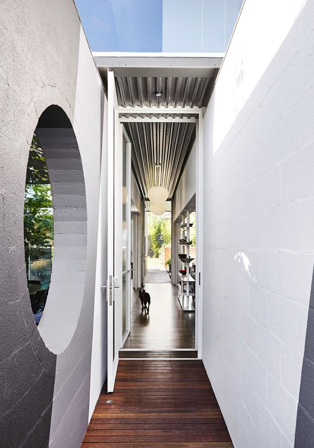 thiết kế nội thất mở cho không gian kiến trúc nhỏ