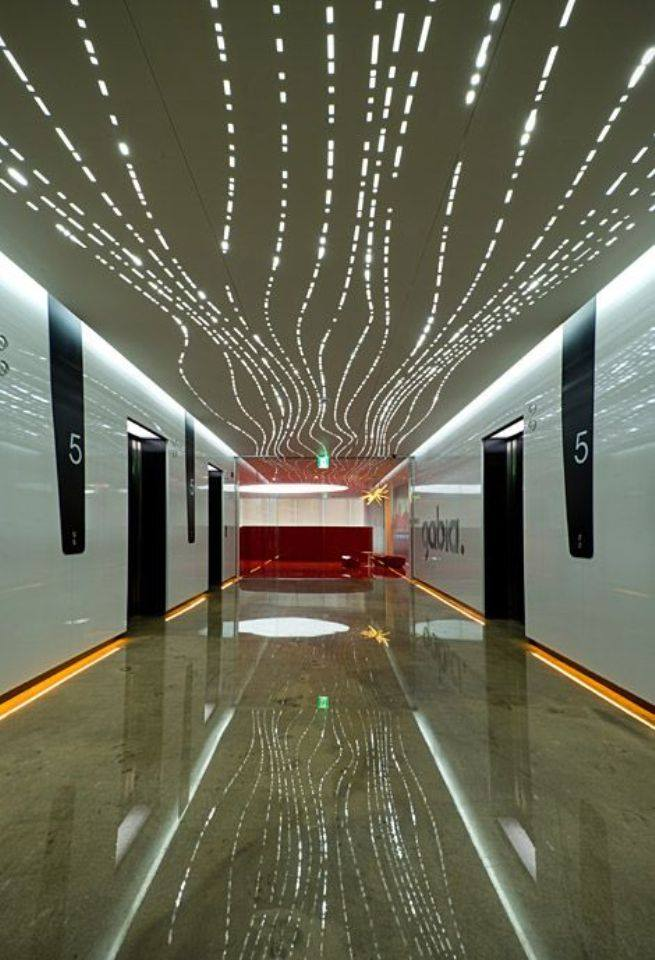nghệ thuật thiết kế không gian nội thất đẹp với đèn độc đáo