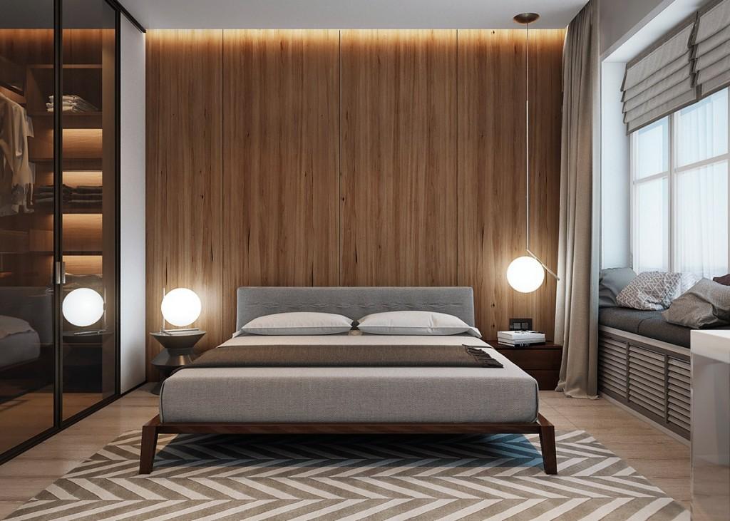 mẫu thiết kế nội thất phòng ngủ nhà đẹp và tiện nghi cho gia đình có 2 con