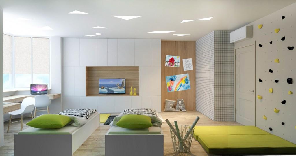 thiết kế nội thất phòng trẻ em đẹp và tiện nghi