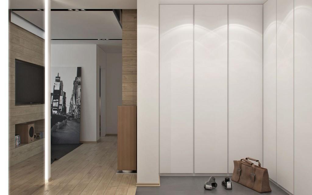 mẫu thiết kế nội thất đẹp cho căn hộ 1 phòng ngủ