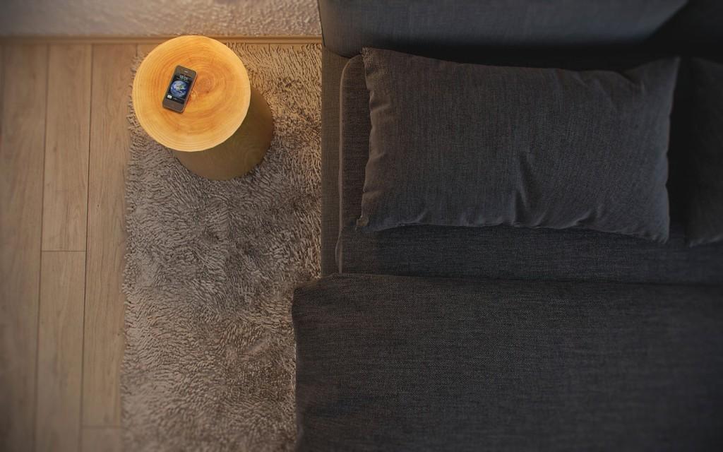 thiết kế nội thất phòng ngủ đẹp cho căn hộ 1 phòng ngủ