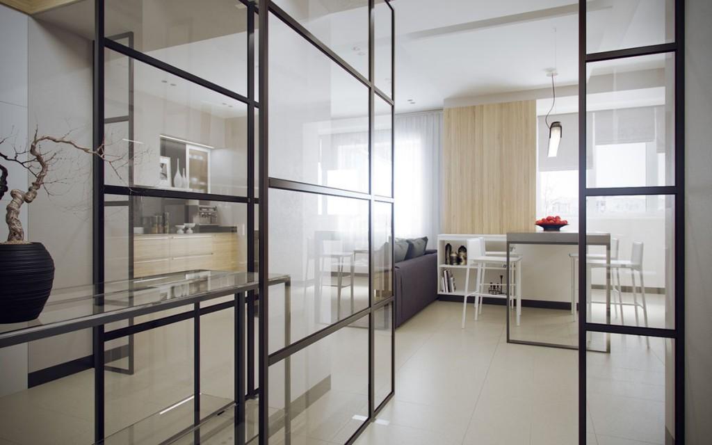 tư vấn thiết kế nội thất căn hộ 1 phòng ngủ đẹp