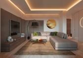 tư vấn thiết kế nội thất phòng khách đẹp và tiện nghi cho căn hộ 1 phòng ngủ