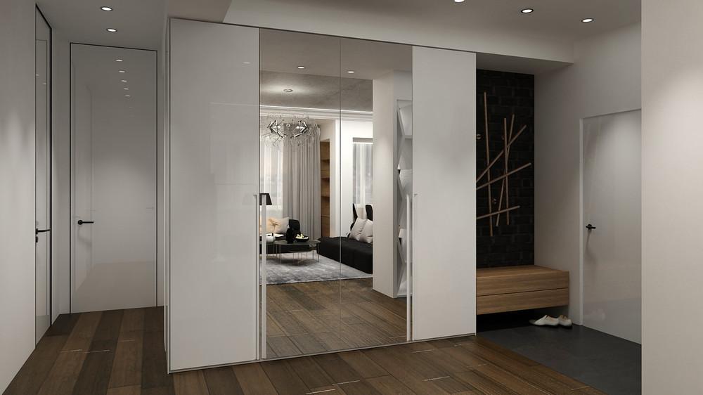 ý tưởng thiết kế nội thất đẹp lung linh cho căn hộ 1 phòng ngủ