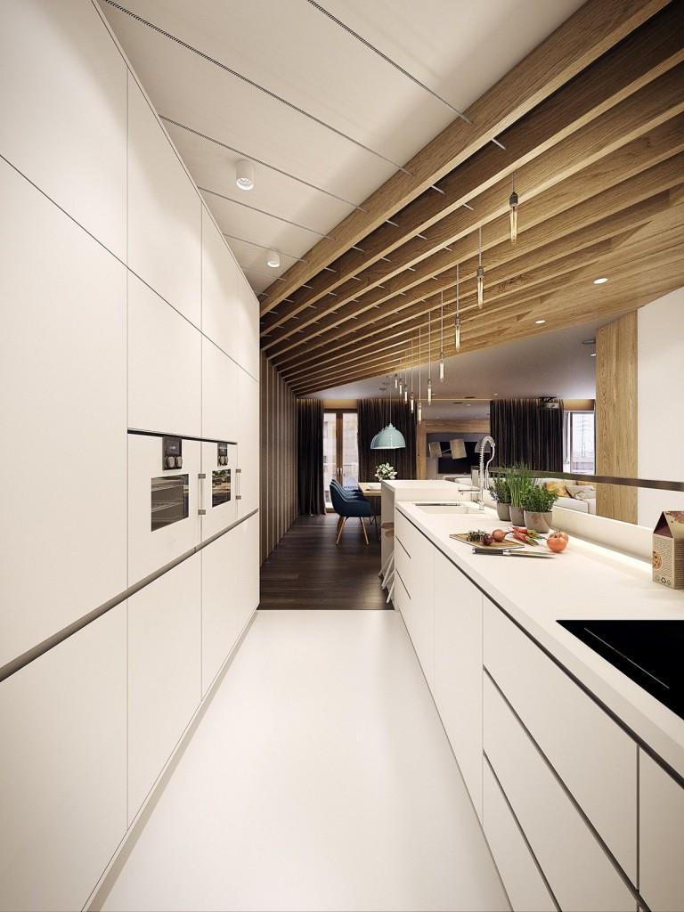 mẫu thiết kế nội thất tương phản, hiện đại, sáng tạo và mạnh mẽ