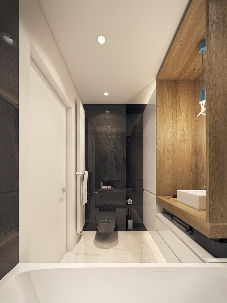 tư vấn thiết kế nội thất phòng tắm thanh lịch, trang nhã cho nhà đẹp