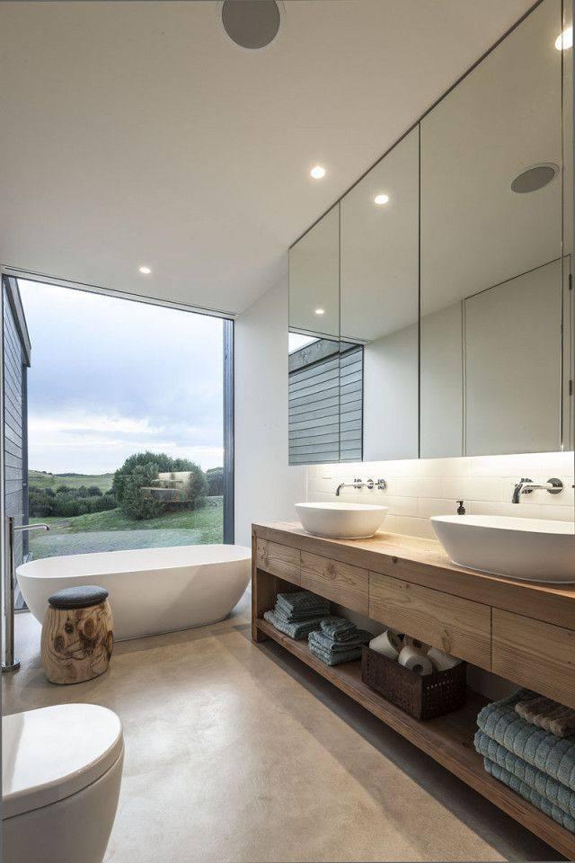 những mẫu thiết kế bồn tắm, nội thất phòng tắm đa phong cách cho nhà đẹp
