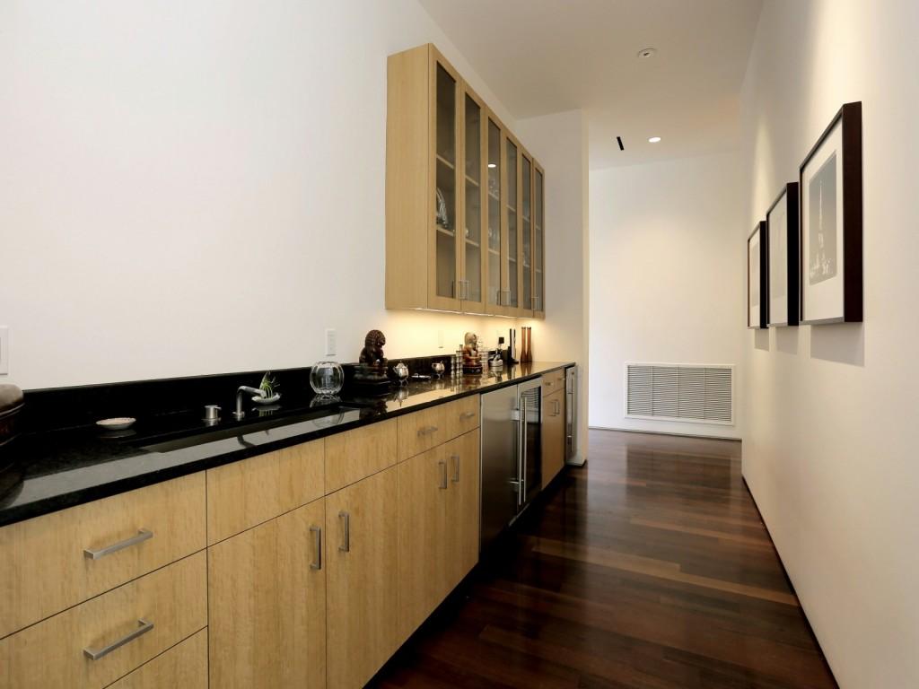 mẫu nội thất nhà bếp hiện đai, đơn giản và tiện nghi