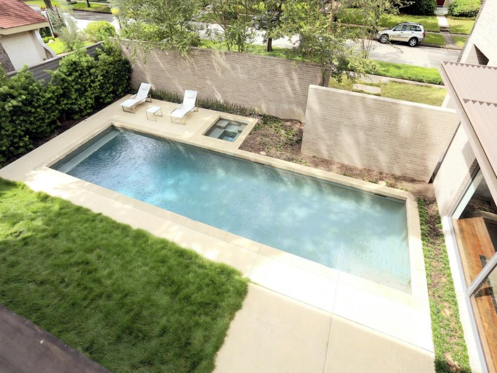 mẫu thiết kế bể bơi, tiểu cảnh, sân vườn hiện đai, đơn giản và tiện nghi