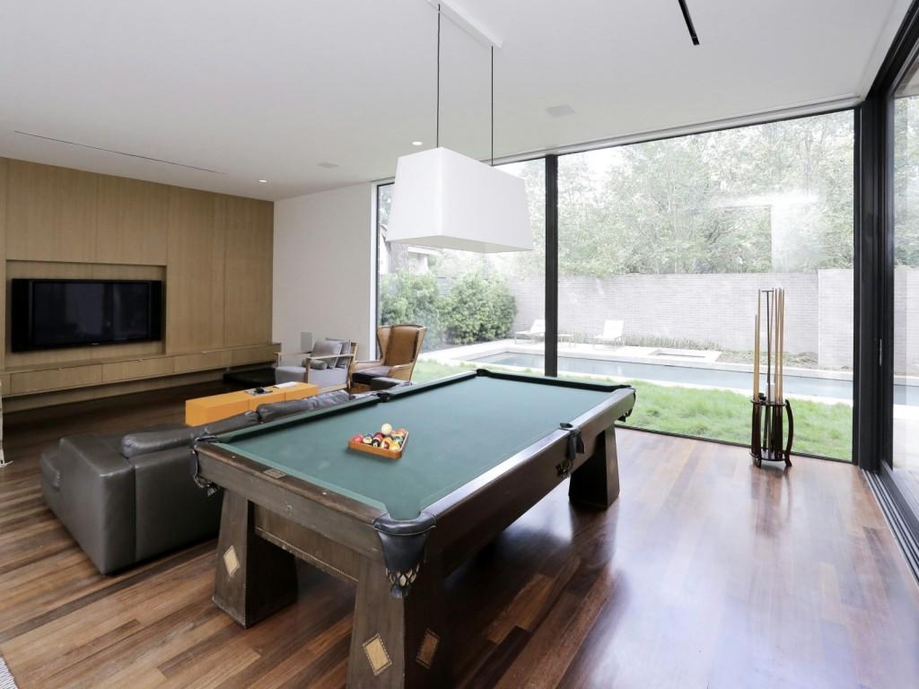 mẫu nội thất phòng giải trí hiện đai, đơn giản và tiện nghi