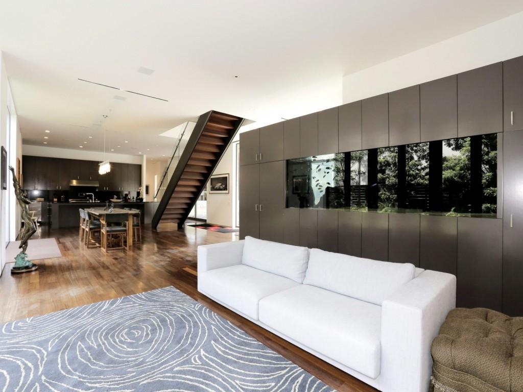 mẫu thiết kế nội thất phòng khách hiện đai, đơn giản và tiện nghi