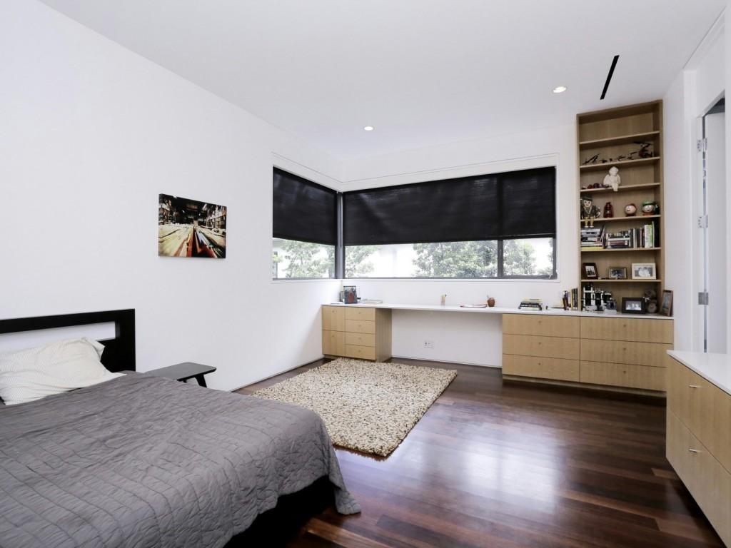 mẫu thiết kế nội thất phòng ngủ hiện đai, đơn giản và tiện nghi