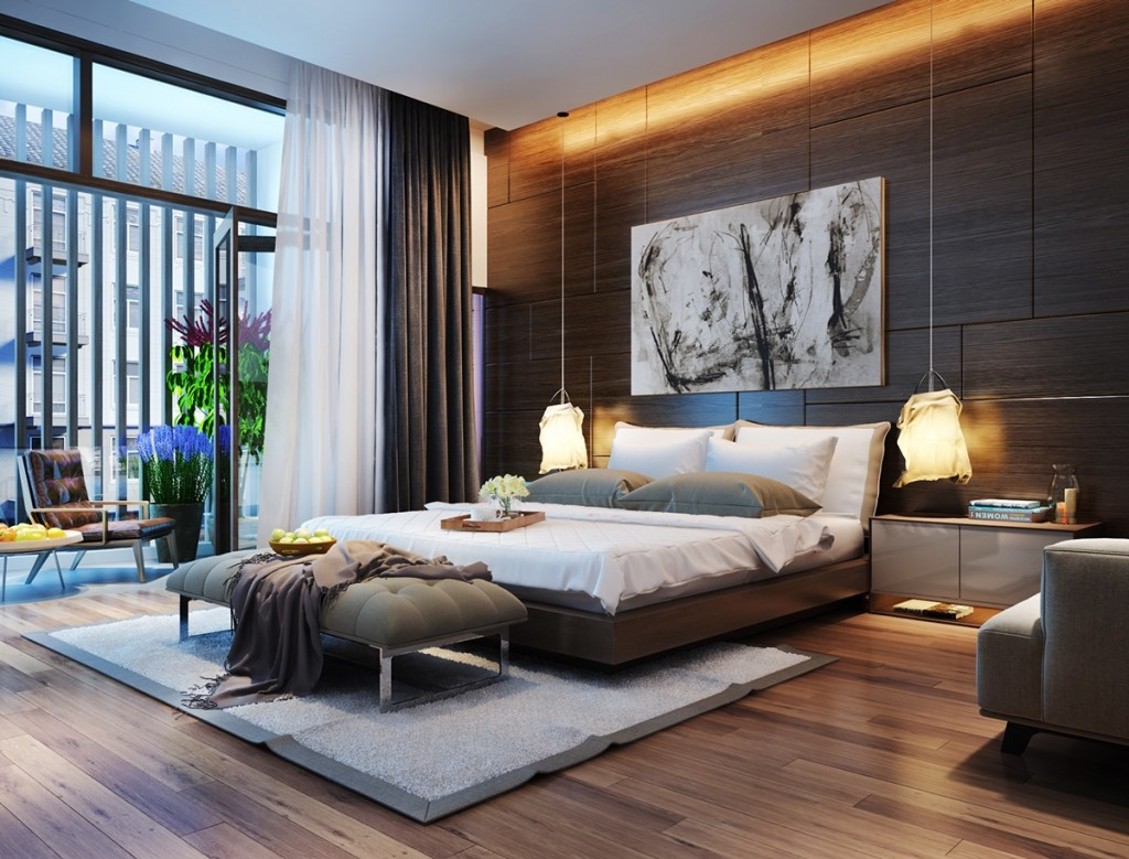ý tưởng thiết kế ánh sáng đẹp độc đáo cho phòng ngủ