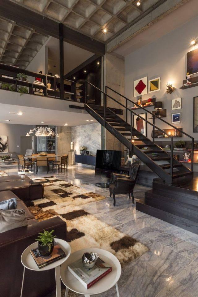 mẫu thiết kế nội thất đẹp hoàn hảo cho gác xép, tầng lửng
