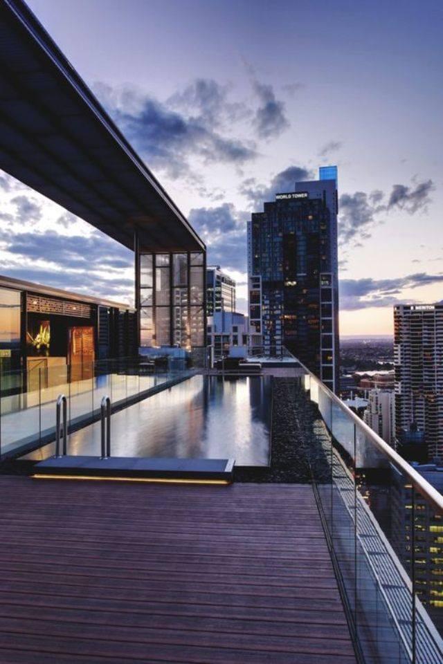 mẫu thiết kế nội thất hiện đại, sang trọng cho căn hộ tầng áp mái
