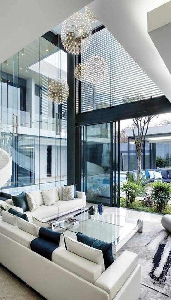 mẫu thiết kế nội thất đẹp cho căn hộ áp mái