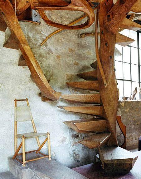 mẫu cầu thang đẹp theo phong thủy