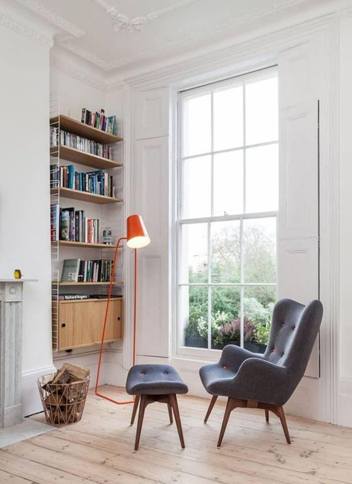 mẫu thiết kế góc đọc sách, thư giãn đẹp