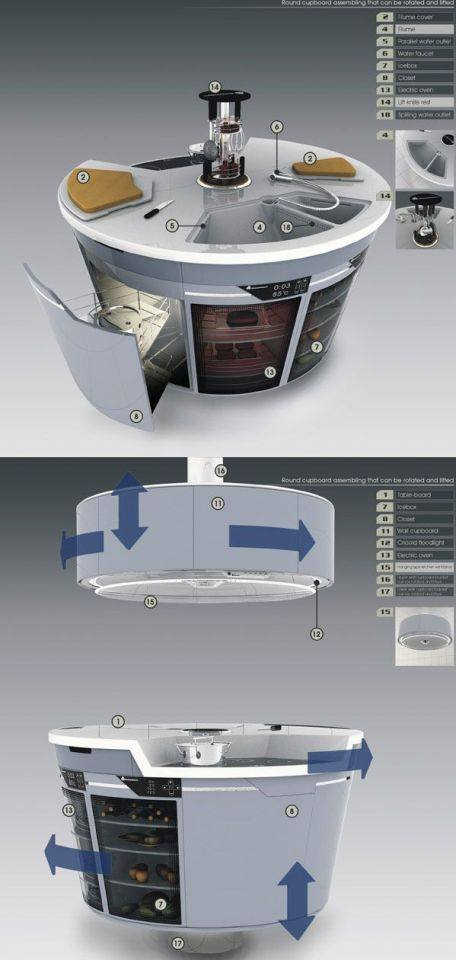 mẫu thiết kế nội thất nhà bếp phòng ăn hiện đại tiện nghi