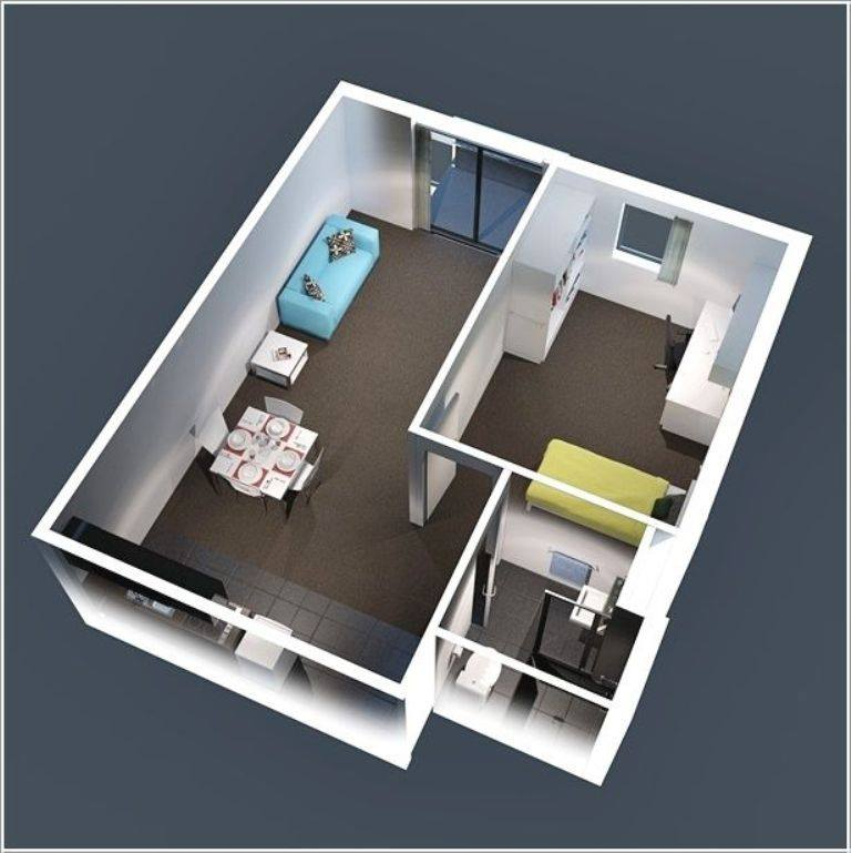mẫu thiết kế nội thất đẹp và tiện nghi cho nhà nhỏ