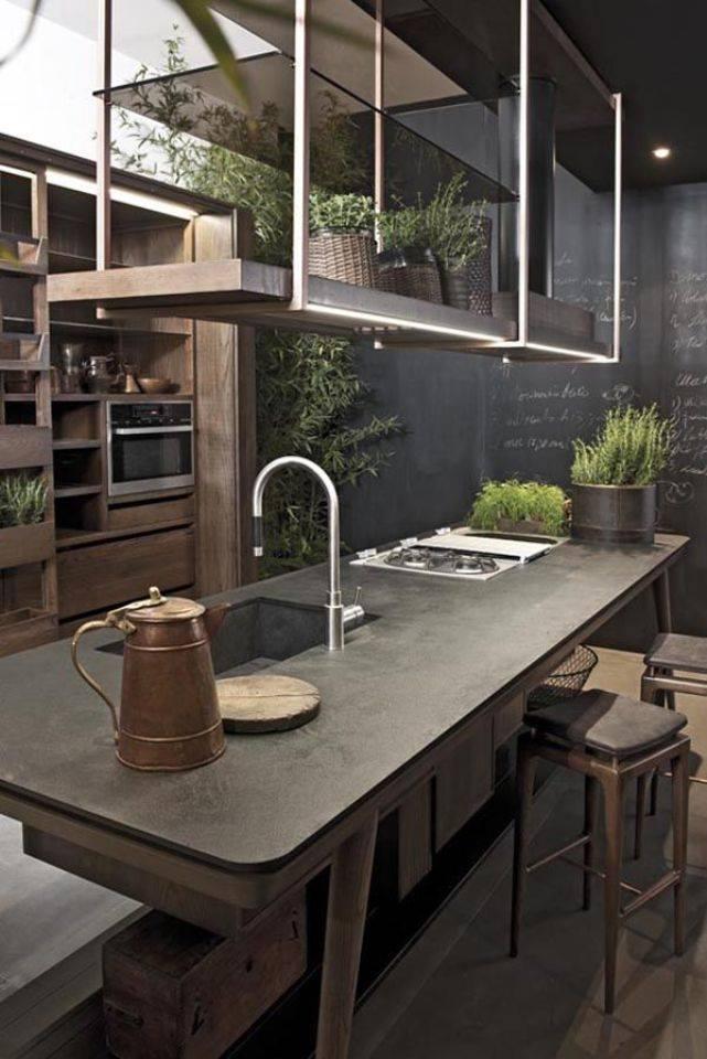mẫu thiết kế nội thất phong cách công nghiệp độc đáo