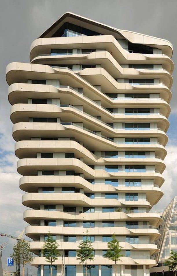 mẫu thiết kế ngoại thất công trình đẹp